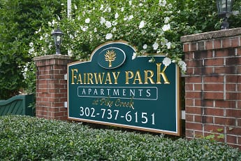 Community Signage, Fairway Park Apartments, 0