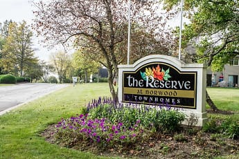 Community Signage, The Reserve at Norwood Townhomes, 0