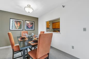 Dining Room, Yankee Hill Apartments, 2
