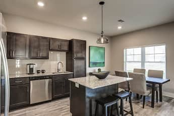 Kitchen, Michigan Meadows Townhomes, 0