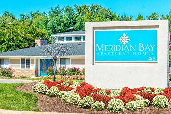Community Signage, Meridian Bay Apartments, 0
