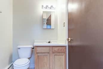 Bathroom, Glen Arms Apartments, 2