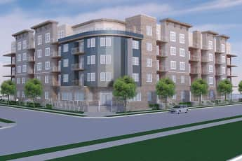 Rendering, The Element Apartments, 1