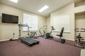 Fitness Weight Room, Brookside Senior Apartments, 2