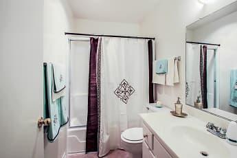 Bathroom, Brookside Apartments, 2