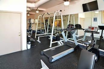 Fitness Weight Room, Springdale Villa, 1