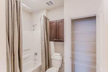 Bathroom, Landmark Apartments, 2