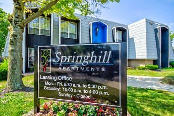 Community Signage, Springhill, 2