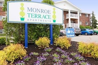 Community Signage, Monroe Terrace, 2