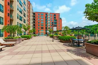 Building, Merritt River Apartments, 1