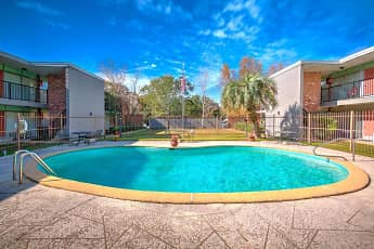 Pool, Country Club Apartments, 0