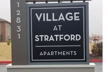 Community Signage, Village at Stratford, 0