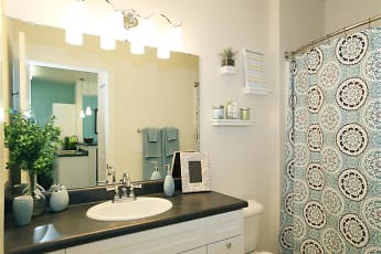Bathroom, Corso Apartments, 2