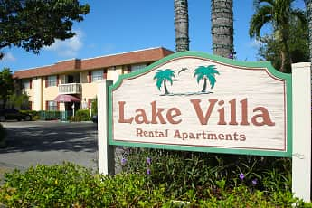 Community Signage, Lake Villa Apartments, 1