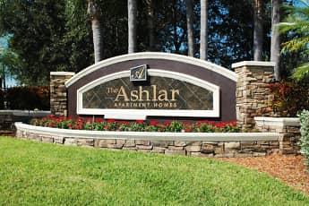 Community Signage, Ashlar Apartment Homes, 2