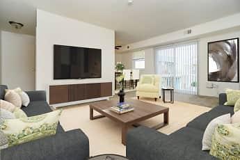 Living Room, Longview Apartment Homes, 1