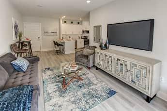 Living Room, 215 Ridge at Bound Brook, 1