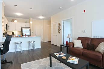Living Room, Edgewater at Queset Commons, 1