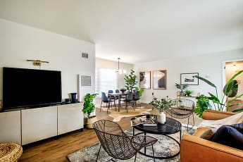Living Room, Stadium Village Apartments, 0