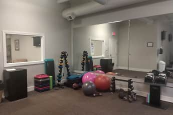 Fitness Weight Room, The Residences at South High, 2