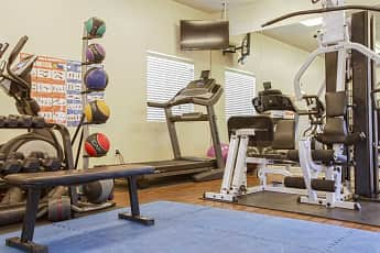 Fitness Weight Room, Golden Valley Luxury Apartments, 2