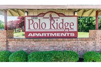 Community Signage, Polo Ridge Apartments, 1