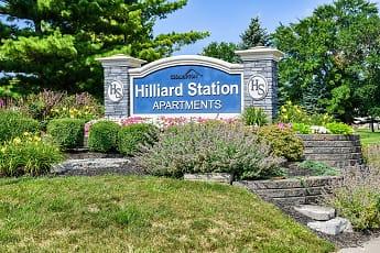 Community Signage, Hilliard Station Apartments, 0