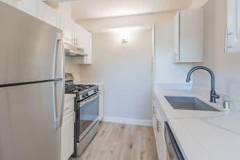 Kitchen, The Preston at Hillsdale, 1