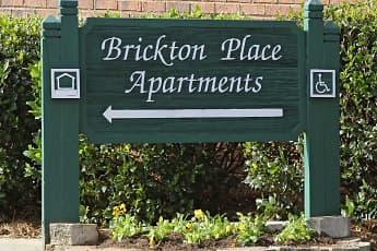 Community Signage, Brickton Place, 2