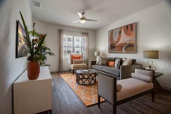Living Room, Murano Apartments, 0
