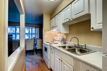 Kitchen, Park Place Apartments, 0