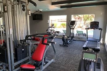 Fitness Weight Room, University Green, 2
