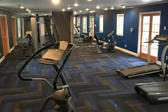 Fitness Weight Room, Quail Run Apartments, 2