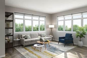 Living Room, 202 Park, 2