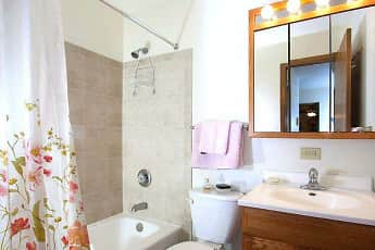 Bathroom, Goldenstar Apartments, 2