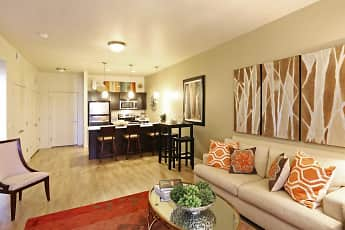 Living Room, The Vue at Sugarhouse Crossing, 0