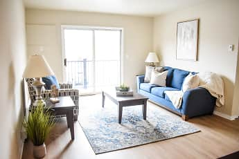 Living Room, Residence at Capital Hills, 0