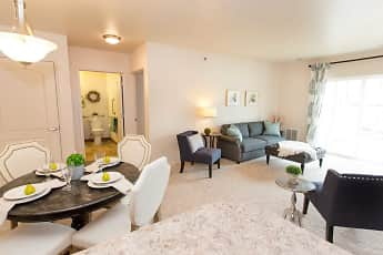 Living Room, Eastland Court Senior Apartments, 0