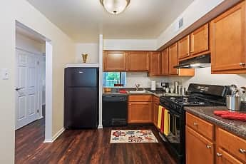 Kitchen, The Cascades Townhomes, 1