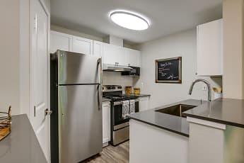 Kitchen, Callen Apartments, 0