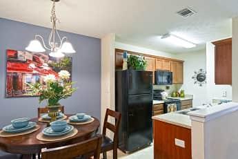 Dining Room, Rim Creek Apartments, 1