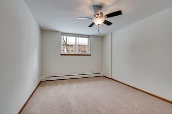 Bedroom, Queen Terrace Apartments, 2