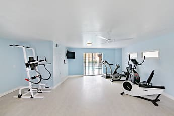 Fitness Weight Room, Ocean Air, 1