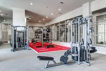 Fitness Weight Room, Spire, 2