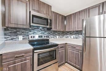 Kitchen, Crogman School Lofts Apartments, 0