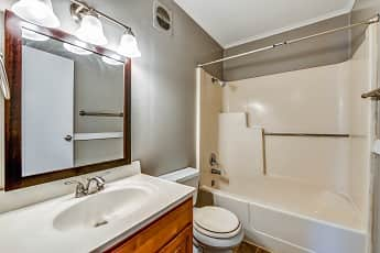 Bathroom, Pine Hill Village Apts, 2