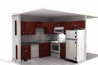 Kitchen, Silver Towers, 2