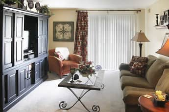 Living Room, Chateau Royale Apartments, 1