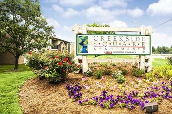 Community Signage, Creekside Square Apartments, 2