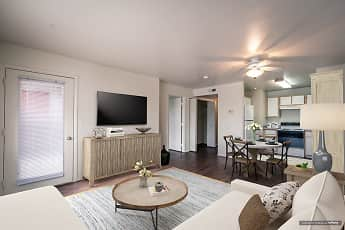 Living Room, Brush Meadow Apartments, 0